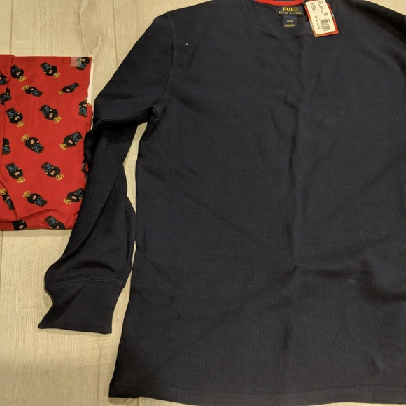 Polo by Ralph Lauren Other - NEW Polo Ralph Lauren Teddy Bear Pajamas Size L